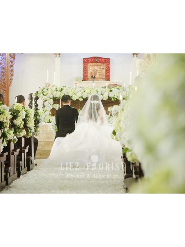 Dekorasi Gereja Pernikahan (KODE : DG 03)