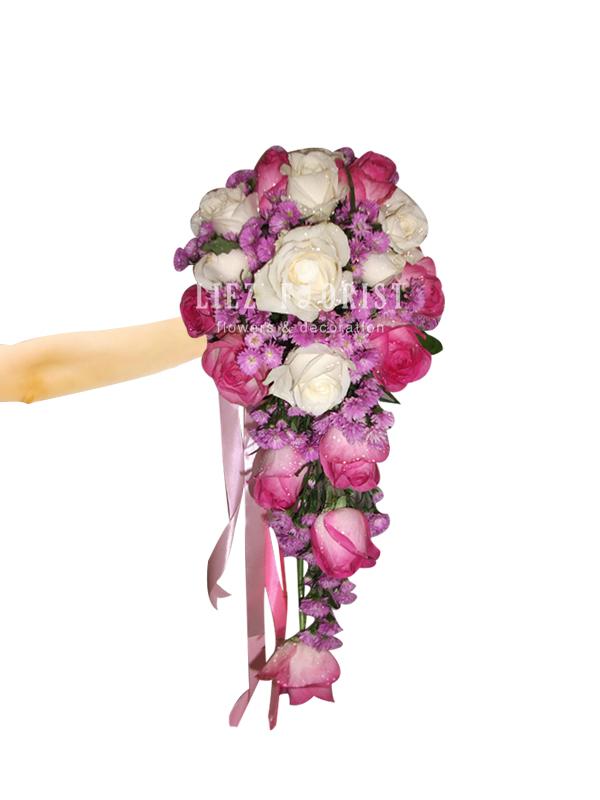 Hand Bouquet Pernikahan (Kode : BN 01)