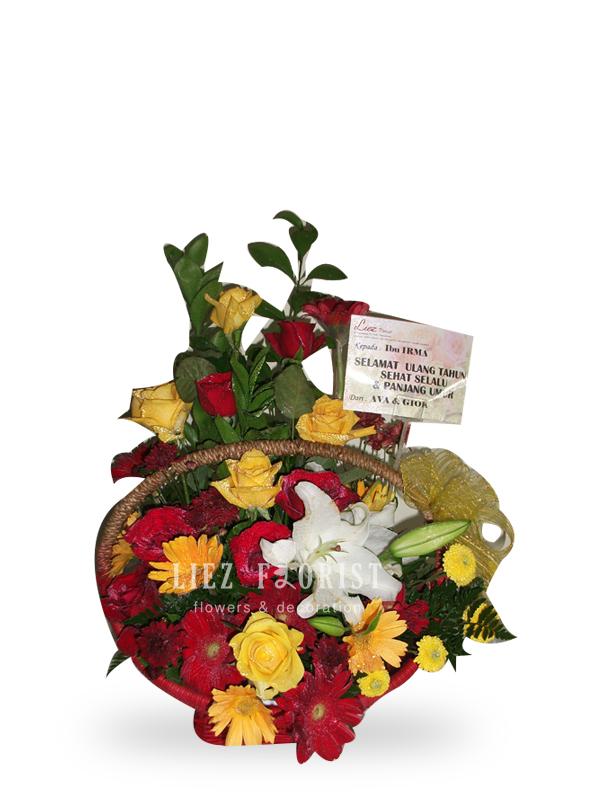 Rangkaian Bunga Alami (KODE : RBA 03)